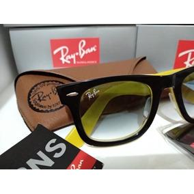 0415552c8ab15 Ray Ban Amarelo Degrade De Sol - Óculos no Mercado Livre Brasil
