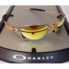 3f20356aa9e44 Óculos Oakley Juliet Double X 24k Gold Original Frete Grátis ...
