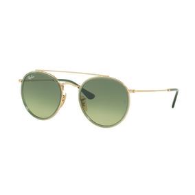 c5b076015fd0d Óculos De Sol Ray-ban Rb3647n 9122m Lente Verde Lançamento