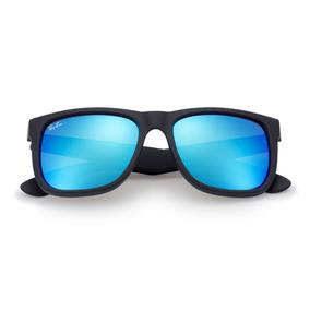 1fb456f1d23bc Oculos Rayban Quadrado Espelhado Azul - Óculos no Mercado Livre Brasil
