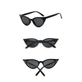 50f32d5c9aef3 Oculos De Sol Mini Gatinho Vintage Retrô Celebridades Lolita