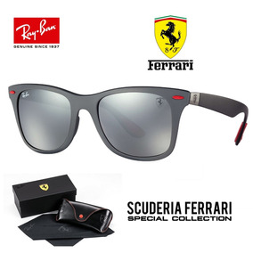 3db5b24f0 Ray Ban 4195 Wayfarer Liteforce Ferrari Carbono Original