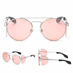 52c7d05824f03 Óculos De Sol Fashion Exclusivo Rosa Proteção Uva Uvb 400