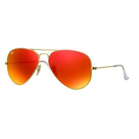 c632280e2 Oculos Aviador Espelhado Laranja De Sol - Óculos no Mercado Livre Brasil