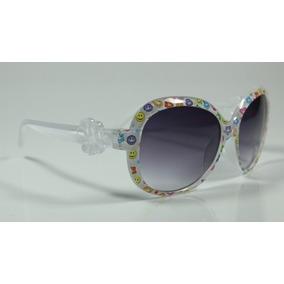 dda8685280063 Oculos Branco Redondo De Sol - Óculos no Mercado Livre Brasil