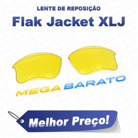 84132d91b8e94 Lente Flak Jacket Noturna Laranja De Sol Oakley - Óculos no Mercado ...