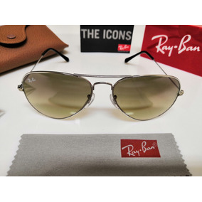 409727d3b1ca0 Ray Ban Aviator 3024 Prata Cromado Espelhado Frete Grátis!! - Óculos ...