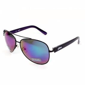 d88b0c5321845 Oculos Guess Aviador Gu 7151 - Gu7151 Blk-3f Novo Original