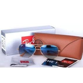 db435eedef6a0 Ray Ban Aviador Azul Degrade Tamanho P - Óculos no Mercado Livre Brasil