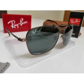 1f56753dffcb4 Raiban Original Ouro Branco De Sol Ray Ban - Óculos no Mercado Livre ...
