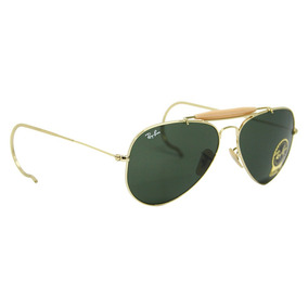 8e33d8af78a1b Óculos De Sol Ray Ban Aviador   Caçador Dourado Rb 3030 - Óculos no ...