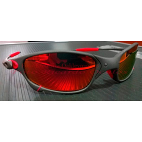 8a67d18c9 Juliet Plasma Fire Red De Sol Oakley - Óculos no Mercado Livre Brasil