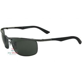 93508fc22 Oculo Ray Ban Aro Azul Lente Azul Com Veludo - Óculos no Mercado ...