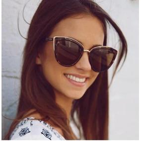 52ca5bdb3d2aa Oculos Sol Espelhado Cat Eye Feminino Gatinha Olho De Gata