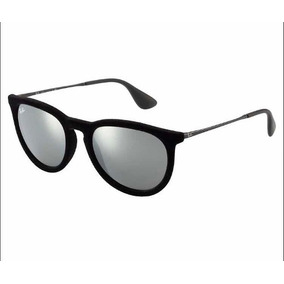 396efb90249fd Óculos Feminino Ray Ban Érika Velvet Veludo Espelhado De Sol ...