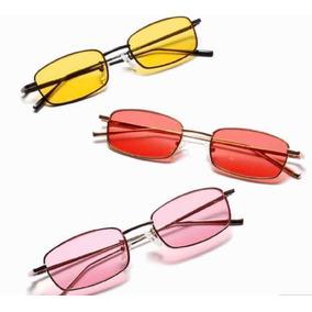 052a00feb9683 Óculos De Sol Vermelho Vintage - Óculos no Mercado Livre Brasil