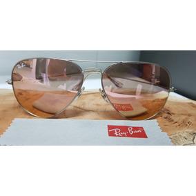 6f1890cf62690 Ray Ban Aviator Rose De Sol - Óculos no Mercado Livre Brasil