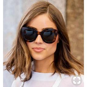 01a96c2ce30ee Oculos Marrom Feminino Grande De Sol Outras Marcas - Óculos no ...