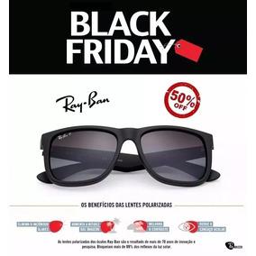 21fa8b9053a30 Ray Ban Justin Polarizado Original De Sol - Óculos no Mercado Livre ...