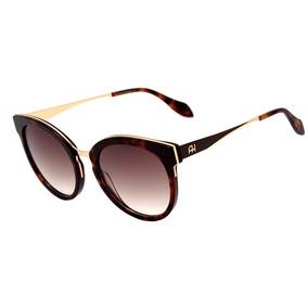 67c3080f77efb ... 04d Dourado Brilho  Mar. 1 vendido · Ana Hickmann Ah 9263 - Óculos De  Sol G21 Marrom Mesclado E D