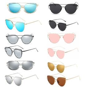0ccae696990b4 Kit Oculos Feminino Revenda De Sol - Óculos no Mercado Livre Brasil