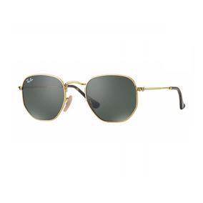 86f4c4e14bb3b Rayban Hexagonal Tamanho Grande - Óculos no Mercado Livre Brasil