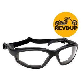 f1d47b9456291 Óculos Proteção Transparente Kick Start Moto Elástico Harley