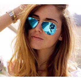 5f29d47a6e245 Óculos De Sol Feminino Grande Espelhado Aviador Barato Lindo. R  39 06