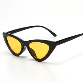 c283091e7dbb2 Óculos De Sol Gatinho Lolita Specs Cat Eye Lente Amarela