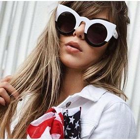 4def3b92692a6 Óculos Gatinho Espelhado Feminino Estiloso Aviador Blogueira