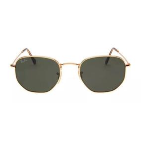 840d021925a40 Rayban Hexagonal 54mm De Sol Ray Ban - Óculos no Mercado Livre Brasil