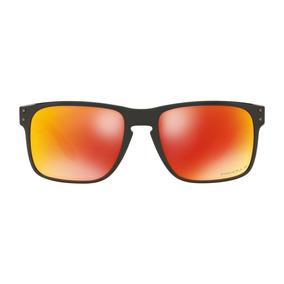 f263691838547 Óculos Oakley Holbrook Polished Black Prizm Ruby Polarized. R  550