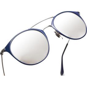 5bbe79bc1 Óculos De Sol Ray Ban Rb3546 Round Double Bridge Espelhado