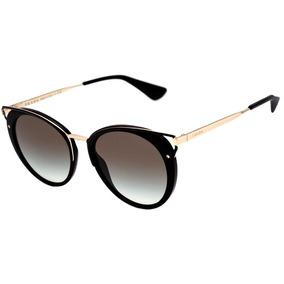 189a0cf1542cd Prada Óculos De Sol Pr 54ns Zvn6s1 Dourado 64mm - Óculos no Mercado ...