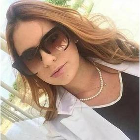 7976e1c5a Óculos De Sol Feminino Clássico - Óculos no Mercado Livre Brasil