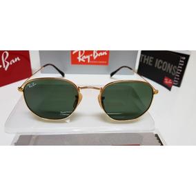 33e93ec4417fe Rayban Hexagonal Tamanho Grande - Óculos no Mercado Livre Brasil