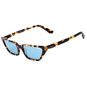 ee7fd96ccdee1 Oculos Sol Vogue Vo 2695 S Marrom E Dourado Novo Original - Óculos ...