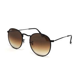 adede2fc2d Óculos Ray Ban Rounder Rb 3447 Tam 50 Rosé Com Dourado - Óculos con ...