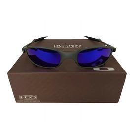 9778092ccaafa Oculos Oakley Juliet X-metal Azul + Certificado + Teste 12x