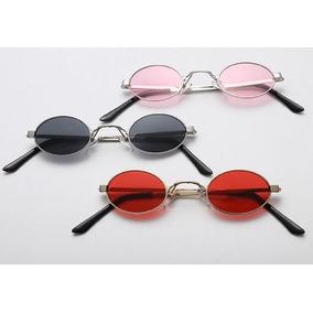 b3915e2f3081a Oculos Redondo Espelhado De Sol - Óculos no Mercado Livre Brasil