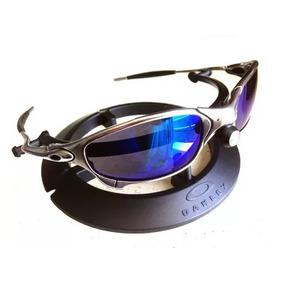 f8185f1798f70 Juliete Cromada Da Lente Azul De Sol Oakley Juliet - Óculos no ...