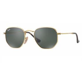878377b6a8052 Oculo Rayban Dourado - Óculos De Sol no Mercado Livre Brasil