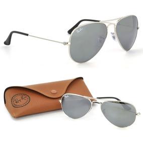 e4015e4e99330 Ray Ban Aviador Espelhado Original Tamanho 62 - Óculos no Mercado ...