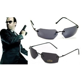 4585f8cc0 Óculos Solar Matrix / Neo + Agente Smith / Policarbonato-par
