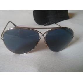 f32b88c5b8acc Óculos Tom Ford Modelo Peter Unissex Azul Original C caixa