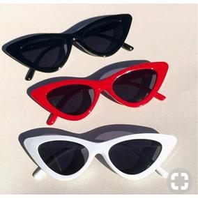 a87de1ce00b07 Óculos Em Formato Triangular Vintage De Sol - Óculos no Mercado ...