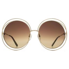 23e5de8b3dda1 Oculos De Sol Chloe Redondo - Óculos no Mercado Livre Brasil