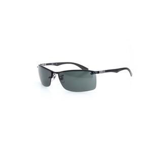 0c8df546440 Óculos De Sol Ray Ban Armação Metal Logo Nas Laterais Preto. R  600