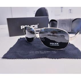 f68f2579e5812 Oculos Aviador Polarizado Police - Óculos De Sol no Mercado Livre Brasil