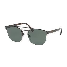 74195a49c629e Óculos De Sol Chunky Quadrado Tartaruga Marrom Prada - Óculos De Sol ...